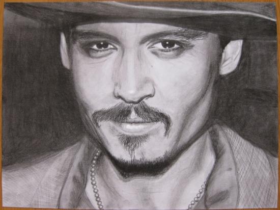 Johnny Depp por Heitsh